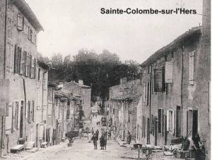 The street where I live c.1900